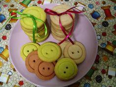 Biscoitos de botões