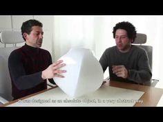 Pio and Tito Toso raccontano come nasce la lampada Penta creata per Vetreria Vistosi