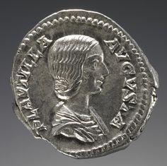 533 best numismatica romana images on pinterest artemis coins and denarius with a portrait of plautilla wife of the emperor caracalla roman fandeluxe Choice Image