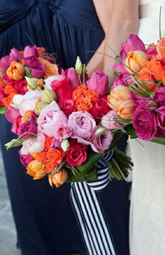 Lauryl Lane , lodge , stripes , Summer , Real Wedding , , bouquet , bouquets , flowers ,