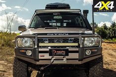 This Nissan Patrol has been equipped with an arsenal of weapons-grade modifications, including a military-spec diesel engine. Best 4x4 Cars, Nissan Patrol Y61, Patrol Gr, Ford Raptor, 4x4 Trucks, Diesel Engine, Land Cruiser, Rigs, Offroad