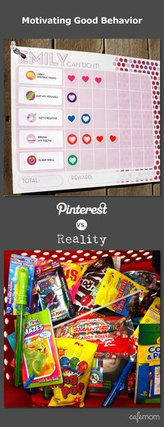Definitely guilty of candy motivation :). For a chance to win a 500 dollar Lowe's gift card and make your Pinterest dreams a reality, enter here: http://www.cafemom.com/about/pinterestvsreality.php