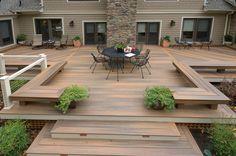 ground level decks | modern deck by Fine Decks Inc