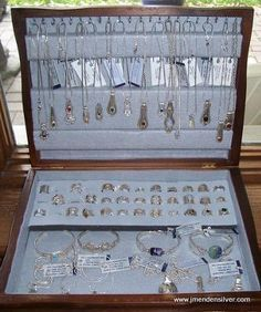 How to Make Silverware Jewelry | Silverware Box Display for Sterling Spoon Jewelry — Jewelry Making ...