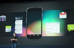 Android 4.1 Jelly Bean home screen revealed, automatically accommodates your apps and widgets -- Engadget