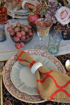 Tablescape: Bohemian Thanksgiving