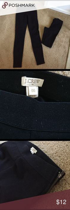 J. Crew Factory Black Everyday Leggings In new unfaded condition! J. Crew Factory Pants Leggings