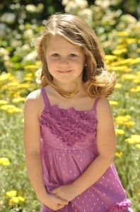 Little girl; Large personality!