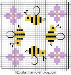 x stitch bees