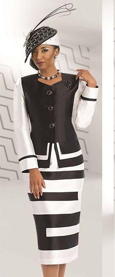 Donna Vinci 5530 Womens Skirt Suit                                                                                                                                                      More