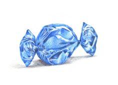 Blue Candy by Koosje Koene Learn to draw like this too:  koosjekoene.nl