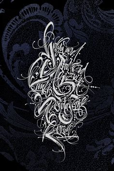 Calligraphy by Mosoffice on Typography Served
