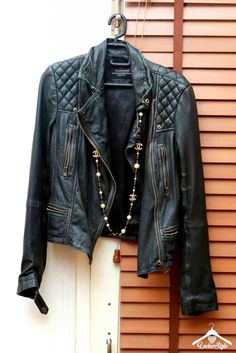 #Leather #Jacket by @AllSaints  Featured in our #LockerStyle diaries.