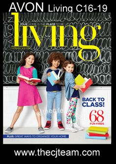 Head Back to Class in Style with Avon Living Campaign 16 through 19 2016! Shop…
