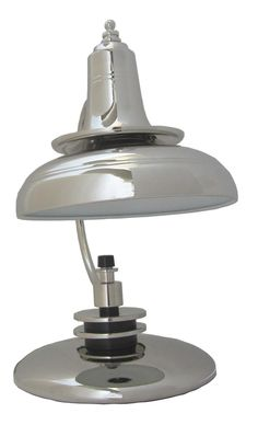 American Art Deco Double Shade Lamp