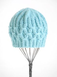 Techno Hat - free pattern                                        Designed by Colleen Powley