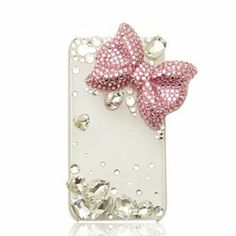 PUNKPHONE 3d Clear Crystal Bling 3d Lovely Crystal Eiffel Tower, Big Bow Cute Case Cover for Iphone 4 4s/5 5s/5c, Galaxy S3/ S4 9500 (5 5s, clear-pink bow) Punkphone,http://www.amazon.com/dp/B00GJBEP00/ref=cm_sw_r_pi_dp_pTw6sb0VA8FG3V55