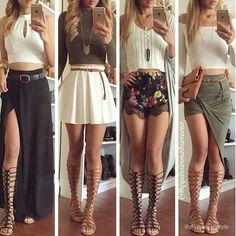 47 trendy ideas for moda verano casual outfits sandals Cute Skirt Outfits, Dress Outfits, Casual Outfits, Dresses, Look Fashion, Teen Fashion, Fashion Outfits, Womens Fashion, Diy Fashion