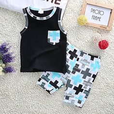 Neeseelily Baby Girl Summer Clothes Sleeveless Pineapple T-Shirt Tank Tops with Sequins Shorts Birthday Outfits Set