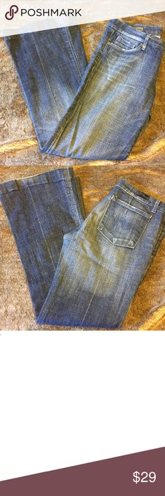 """Citizens of humanity Stretch low waist jeans 29 Citizens of humanity Faye #003 Stretch low waist full leg jeans. Gently used. Size 29 with a 30"""" inseam. Citizens Of Humanity Jeans Boot Cut"""
