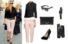 Look for Less: Kate Moss     The Krazy Coupon LadyThe Krazy Coupon Lady - Nice looking casual outfit.