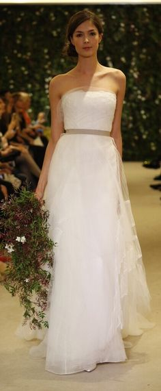 Carolina Herrera Bridal Spring 2016