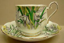 Royal Albert Flower of Month Snowdrop Teacup and Saucer - Grandma's