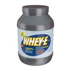 WHEY-E 1Kg sabor Chocolate 37,13 €  Las proteínas lacticas de suero de WHEY-–E han sido obtenidas por ultrafiltración. Es un producto bajo en lactosa, altamente absorbible y fácilmente digerible. Tomarlo después del entreno al ser el momento en que el organismo acepta mejor los nutrientes, permite una recuperación más rápida y un aumento en la síntesis de proteínas (CRECIMIENTO MUSCULAR). Tomar WHEY-–E por la mañana para compensar el catabolismo provocado por el ayuno nocturno. Cualidades…