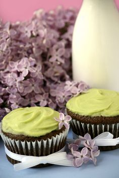 Chocolate Avacado Cupcake-Moist, Egg Free and a way to use up that over ripe avacado