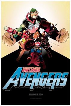 Nintendo Avengers<<< yes yes yes and a billion more times YES!