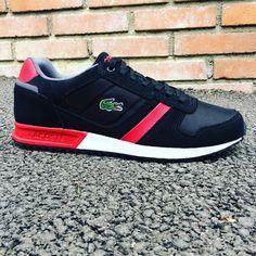 Lacoste Vauban SNM Rouge/Noir dispo du 39 au 45 dans votre boutique Zeshoes Store et sur le site www.zeshoes.com  Insta @zeshoesneaker Facebook/Twitter @zeshoesisgood