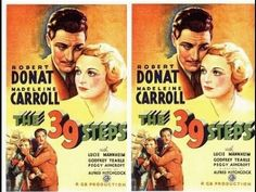 The 39 Steps / Os 39 Degraus (1935) - Alfred Hitchock