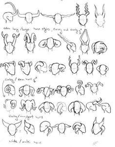 Anime Drawing Tips (How To Draw Anime & Manga) - Demon Drawings, Dark Art Drawings, Creature Drawings, Fantasy Drawings, Art Drawings Sketches, Drawing Base, Drawing Tips, Drawing Tutorials, Art Tutorials