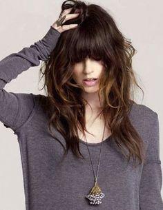 en güzel kahküllü saç modelleri