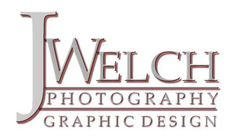 JWelch Photography offers many different types of photography including portraiture and candid, landscape and architectural, commercial, and fine art. Graphic design, video, and web design services are also offered. From logo design to business identity packages, we can make your business stand out above the rest.