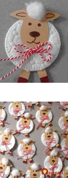 Keď budete v drogérii, vezmite aj balík vatových tampónov a tyčiniek: Toto … Spring Crafts For Kids, Diy For Kids, Bible Study Crafts, Diy Projects To Try, Winter Christmas, Easter Crafts, Kids And Parenting, Diy And Crafts, Creations