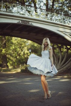 Blue dress  Jessica Stein via Tuula