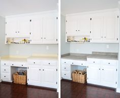 Trying Our Hand At Ardex Concrete Counters | Young House Love