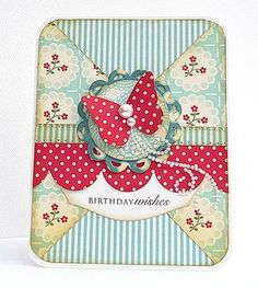 Scrapbook and card sketches created by Valerie Salmon. Pretty Cards, Cute Cards, Easy Cards, Shabby Chic Cards, Beautiful Handmade Cards, Card Making Inspiration, Design Inspiration, Butterfly Cards, Card Sketches
