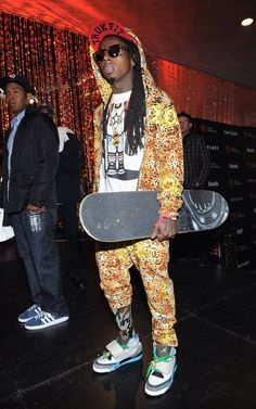 Lil Wayne Best Outfits October 2017