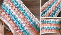 YENİ NESİL DANTEL MODELLERİ:3 MODEL 3 TARİF   Nazarca.com Baby Boy Knitting Patterns, Knitting Stiches, Blanket, Model, Blog, Accessories, Fashion, Crochet Curtains, Knitting Patterns