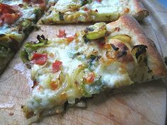 Brussels Sprouts and Speck Pizza
