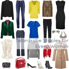 The Staples For Every Woman's Wardrobe | Wardrobe Oxygen: The Staples For Every Woman's Wardrobe