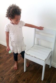 Ana White - DIY stackable children's chair $6