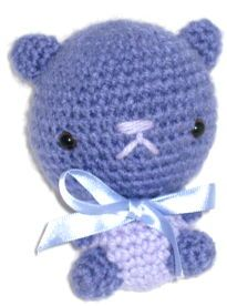 Amigurumi - Kawaii Bear - free crochet pattern