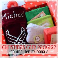 Be Inspired Series: #Christmas Care Package, Contributed By: Dana V. // Love From Home - Very creative - MilitaryAvenue.com
