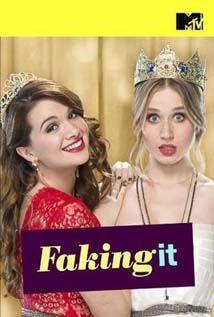 """Faking It Saison 1 Streaming HD [1080p] gratuit en illimité - Deux lycéennes """"ordinaires"""" deviennent populaires du jour au lendemain en se"""