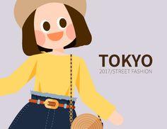 내 @Behance 프로젝트 확인: \u201c2017 TOKYO girl's fashion in S/S\u201d https://www.behance.net/gallery/51493851/2017-TOKYO-girls-fashion-in-SS