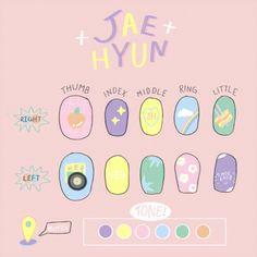 Kawaii Nail Art, Cute Nail Art, Cute Nails, Pretty Nails, K Pop Nails, Pastel Nails, Cute Acrylic Nails, Korean Nail Art, Korean Nails