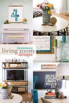 living room reveal - the handmade homethe handmade home